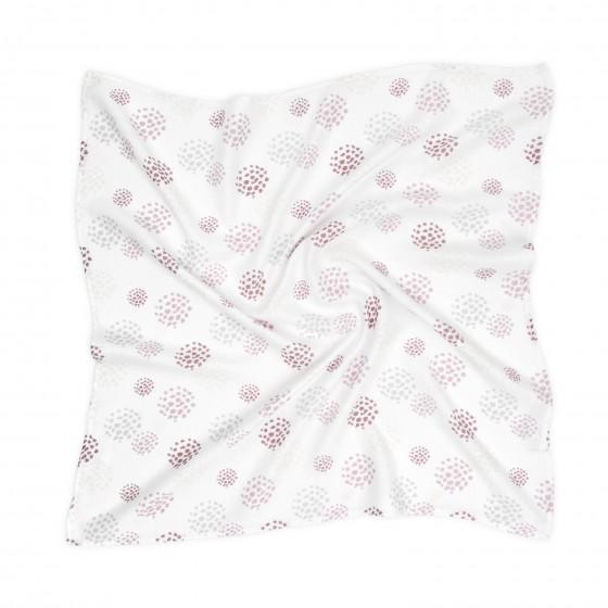 ColorStories - Otulacz muślinowy 100x120cm - Dots róż
