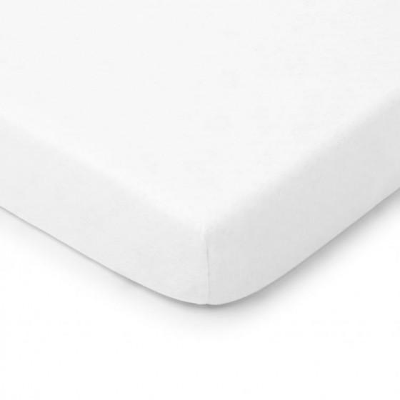 ColorStories - Prześcieradło do łóżeczka 120/60cm - białe