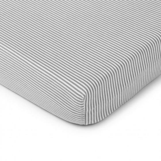 ColorStories - Prześcieradło do łóżeczka 140/70cm - w paski