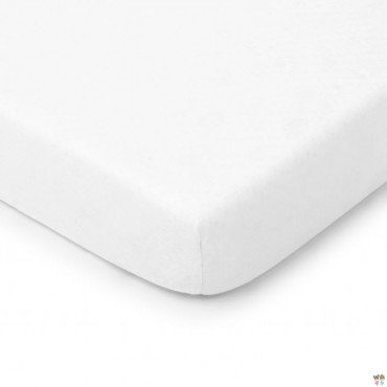 ColorStories - Prześcieradło do łóżeczka 140/70cm - białe