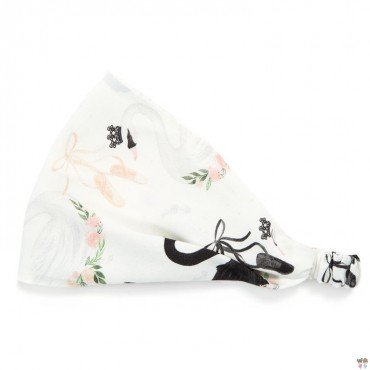 La Millou MEDIUM HEADBAND - MOONLIGHT SWAN