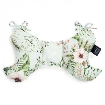 LA MILLOU ANTI-SHAKE PILLOW ANGEL'S WINGS WILD BLOSSOM MINT ECRU