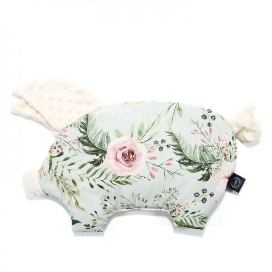 LA MILLOU PODUSIA SLEEPY PIG WILD BLOSSOM MINT ECRU