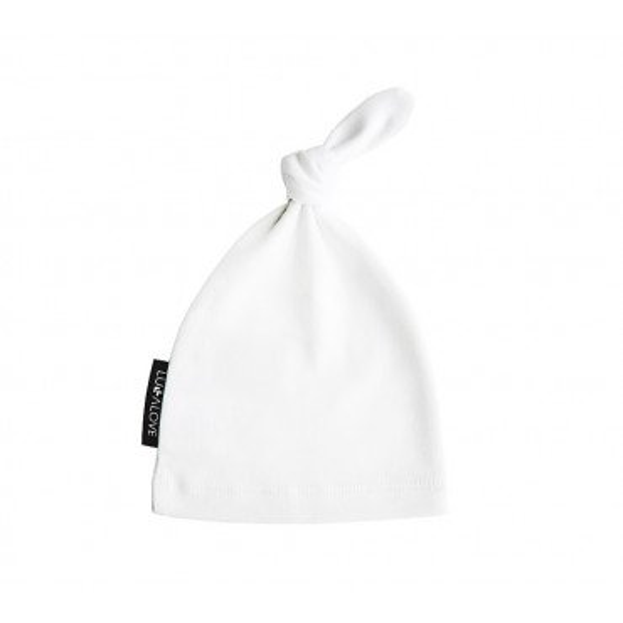 LULLALOVE cap dwarf 0-3 months WHITE