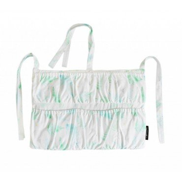 LULLALOVE ORGANIZER FOR COT MINT FERNS