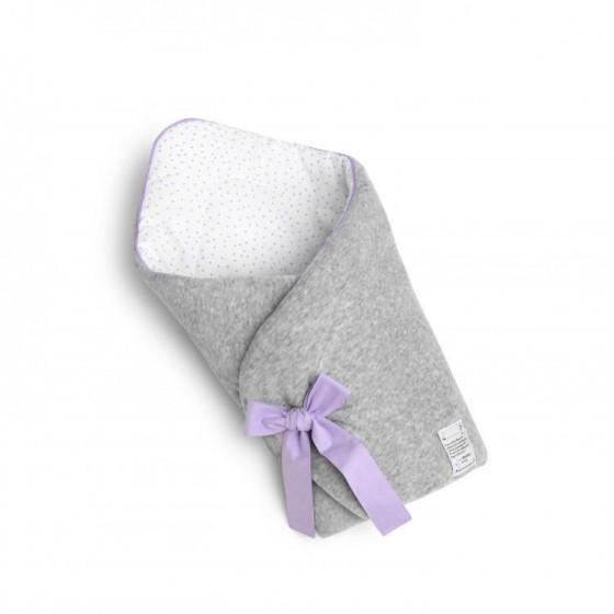 ColorStories - Rożek niemowlęcy - Lavender Dots