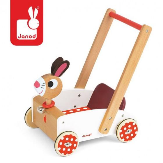JANOD Crazy rabbit stroller walker