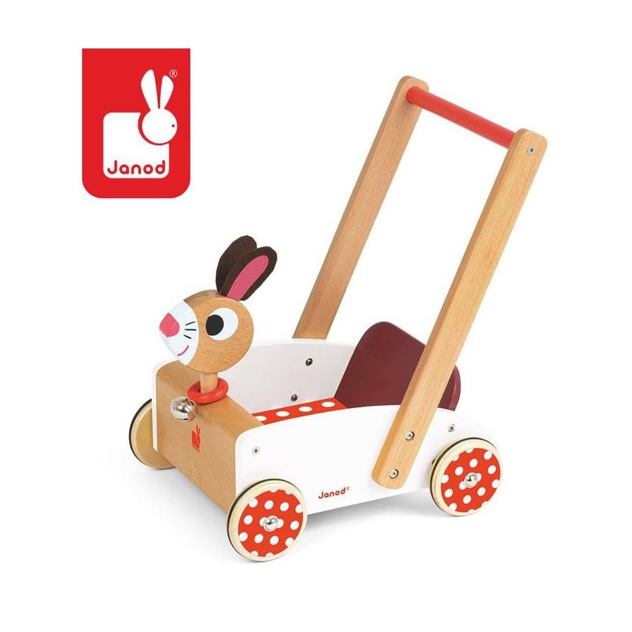JANOD Szalony królik wózek chodzik