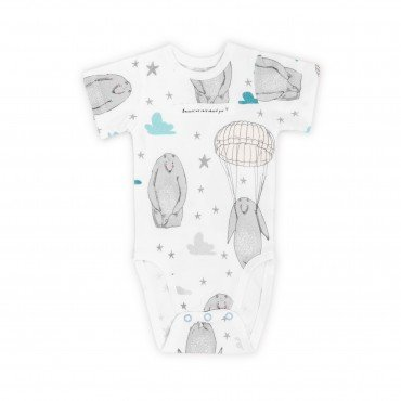 ColorStories - Body niemowlęce Shortsleeve - TeddyBear - 68 cm