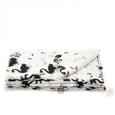 LA MILLOU BAMBOO BEDDING KING SIZE MOONLIGHT SWAN