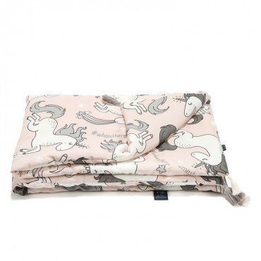 LA MILLOU BAMBOO BEDDING KING SIZE UNICORN SUGAR BEBE BY MAJA BOHOSIEWICZ