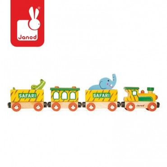 Janod, Safari, wooden train