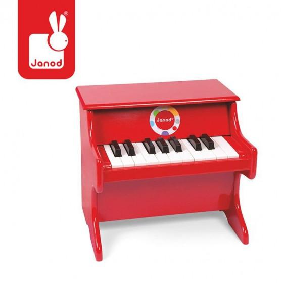Red Confetti piano JANOD