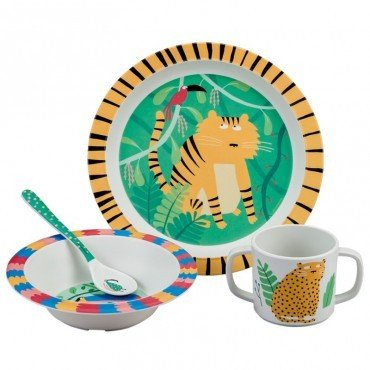MAISON PETIT JOUR JUNGLE KIT DISHES