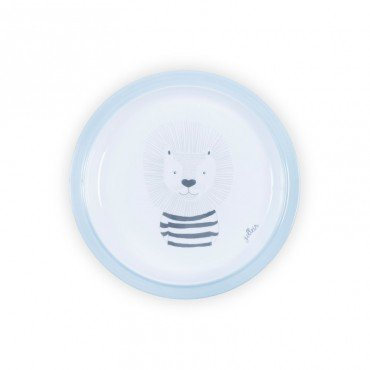 JOLLEIN Plate BLUE WILD ANIMALS