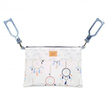 LA Millou cornucopia ORGANIZER FOR WHITE PREMIUM TROLLEY DREAMCATCHER