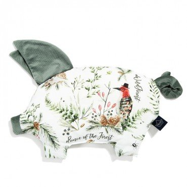 LA MILLOU PODUSIA SLEEPY PIG FOREST KHAKI VELVET COLLECTION