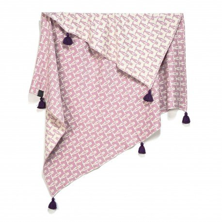 MR. BIG COTTON TENDER BLANKET LA MILLOU - CANDY BEARS