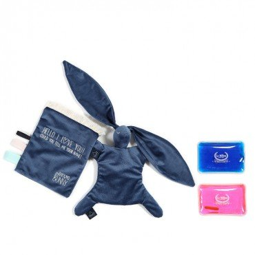 LA MILLOU THERMO BUNNY HARVARD BLUE VELVET COLLECTION