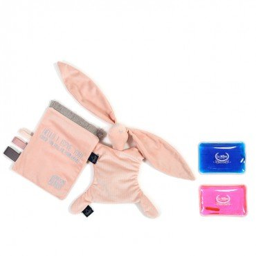 LA MILLOU THERMO BUNNY POWDER PINK VELVET COLLECTION