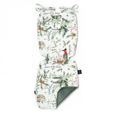 LA MILLOU THICK STROLLER PAD FOREST KHAKI VELVET COLLECTION