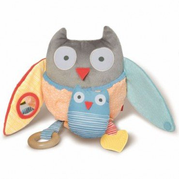 Skip Hop Treetop Owl Educational Toy Gray / Pastel