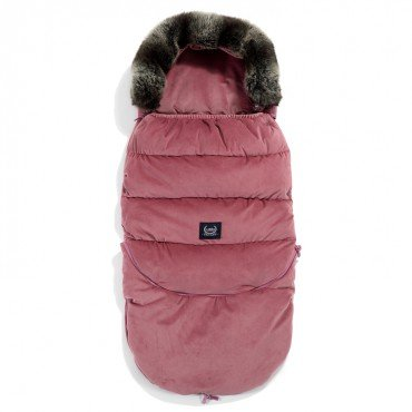 LA MILLOU ASPEN WINTERPROOF STROLLER BAG MULBERRY VELVET COLLECTION