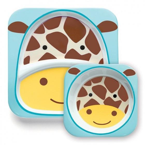 Skip Hop Zestaw Jedzeniowy Zoo Żyrafa