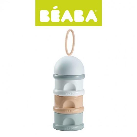 Beaba Pojemniki na mleko w proszku nude