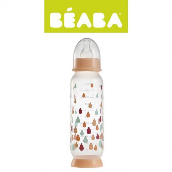 Beaba Butelka antykolkowa 330 ml Rainbow nude