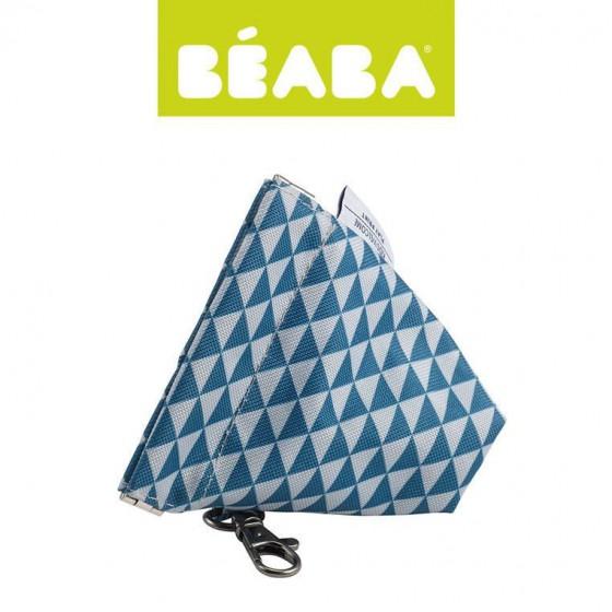 Beaba Opakowanie na smoczek Play Print blue