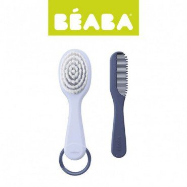 Beaba hair brush and comb mineral
