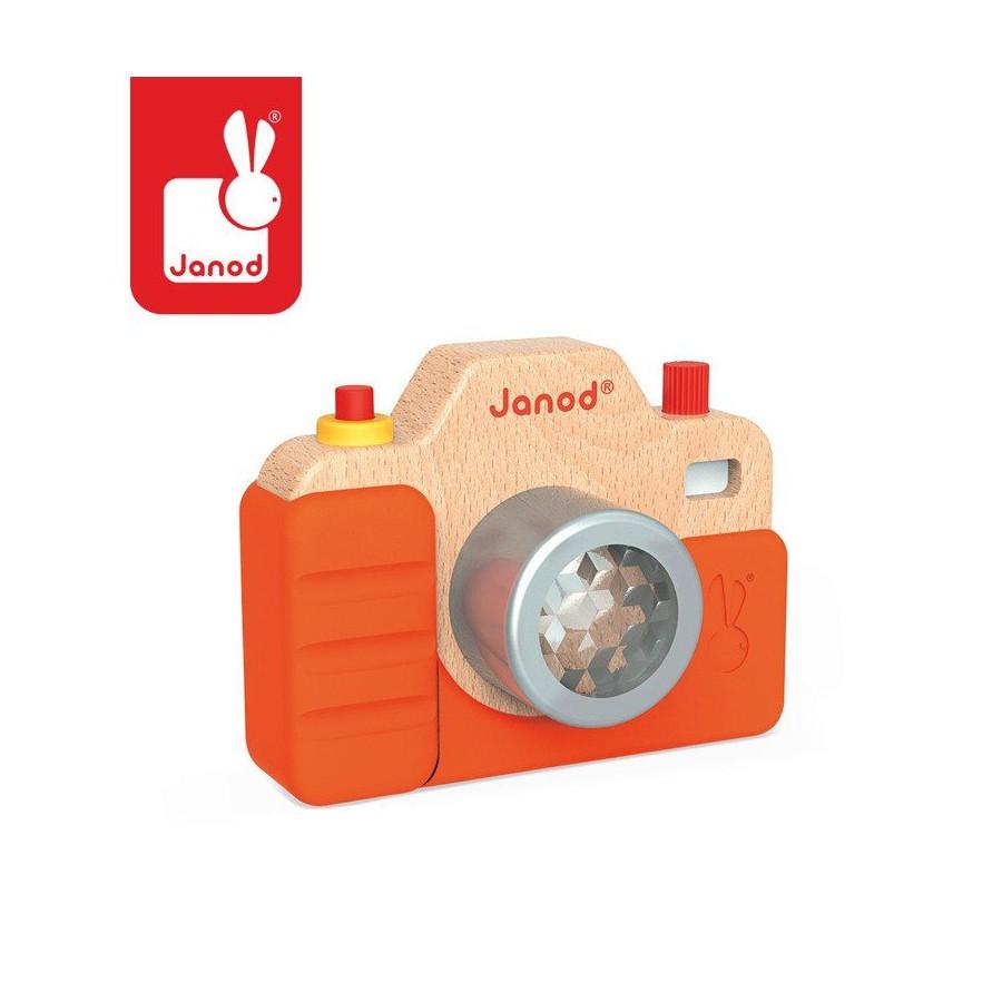 Janod Drewniany aparat fotograficzny z dzwiekami