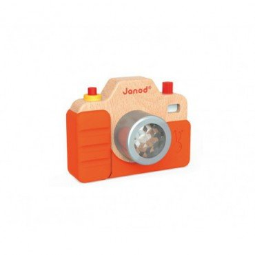 Janod wooden camera with the sounds