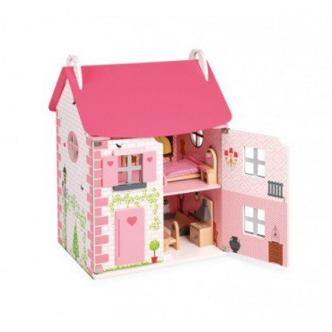 Janod dollhouse with furniture 11