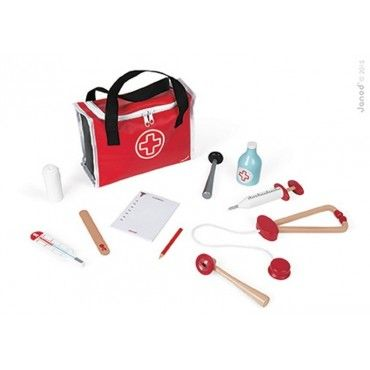 Janod, medical kit with 10 accessories
