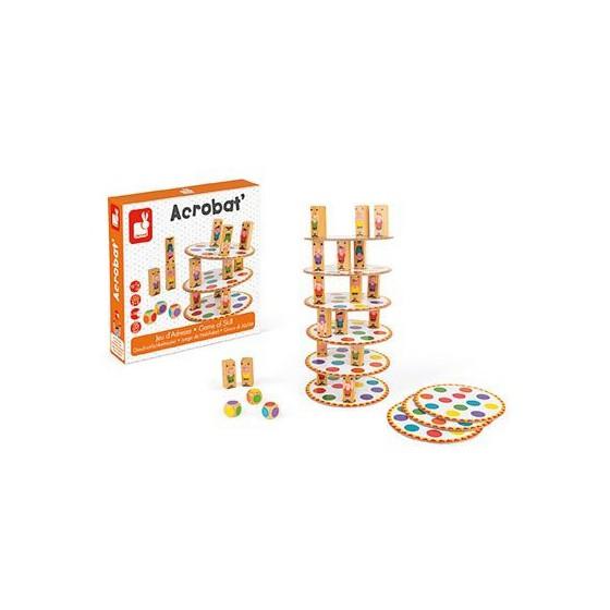 Janod arcade game Acrobats