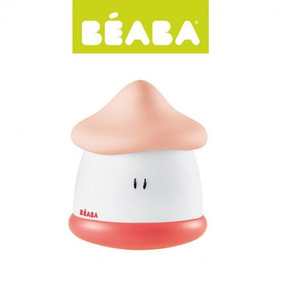 Lampka nocna LED przenosna Pixie Soft 200h swiecenia Coral Beaba