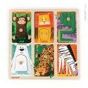 """Janod, sensory Wooden Puzzle """"Animal in the Zoo"""""""