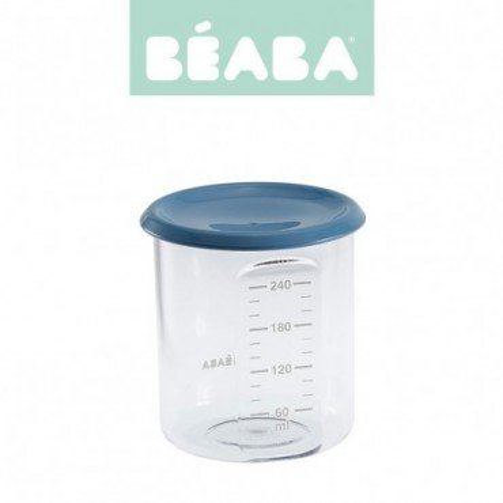 Beaba Sloiczek z hermetycznym zamknieciem 240 ml blue
