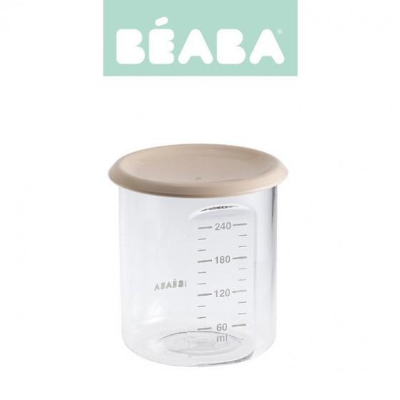 Beaba Sloiczek z hermetycznym zamknieciem 240 ml nude