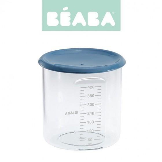 Beaba Sloiczek z hermetycznym zamknieciem 420 ml blue