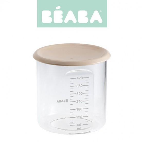 Beaba Sloiczek z hermetycznym zamknieciem 420 ml nude