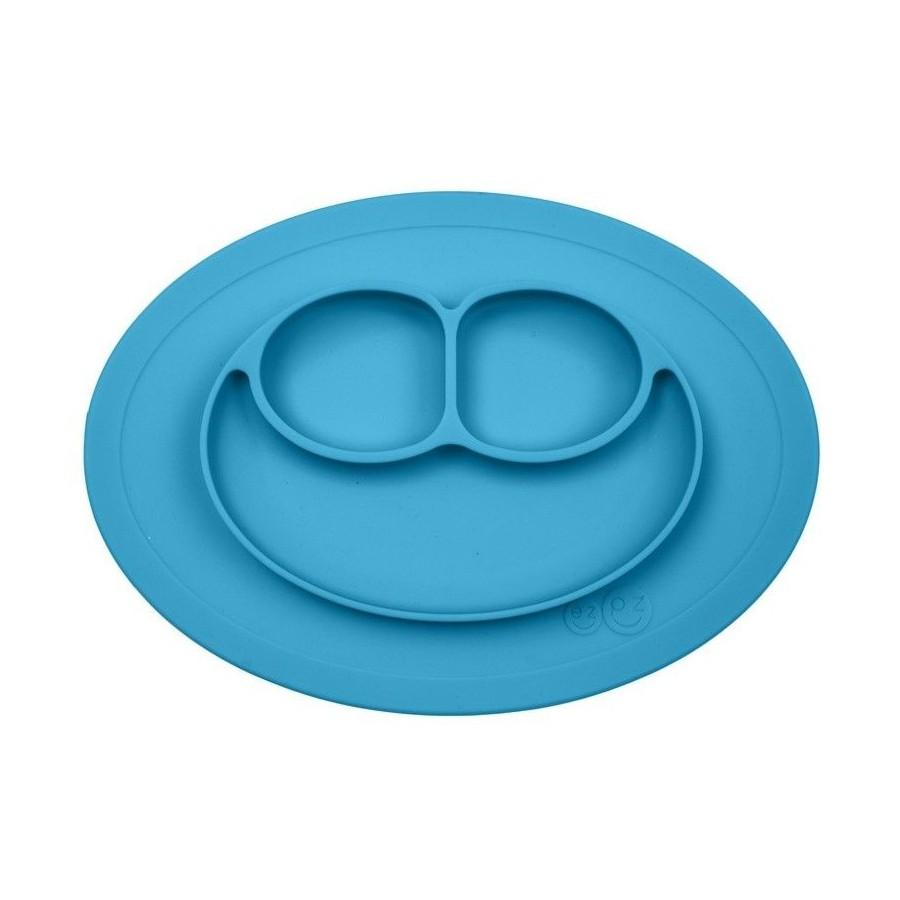 EZPZ silicone plate washer small blue 2in1 Mini Mat