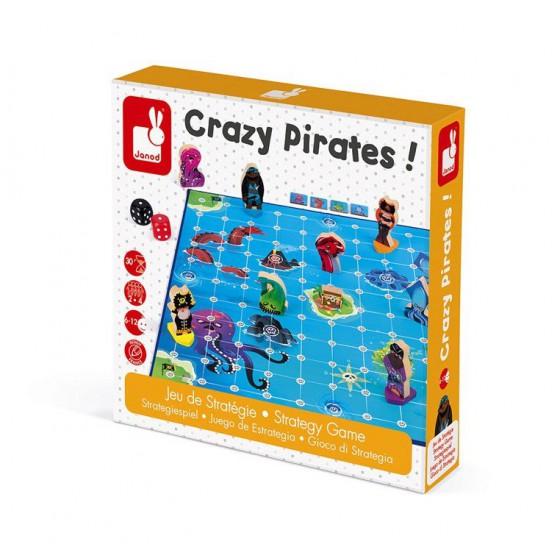 Janod Gra strategiczna Zwariowani piraci