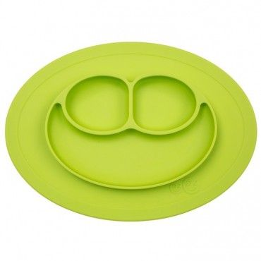 EZPZ silicone plate washer small 2in1 Mini Mat Green