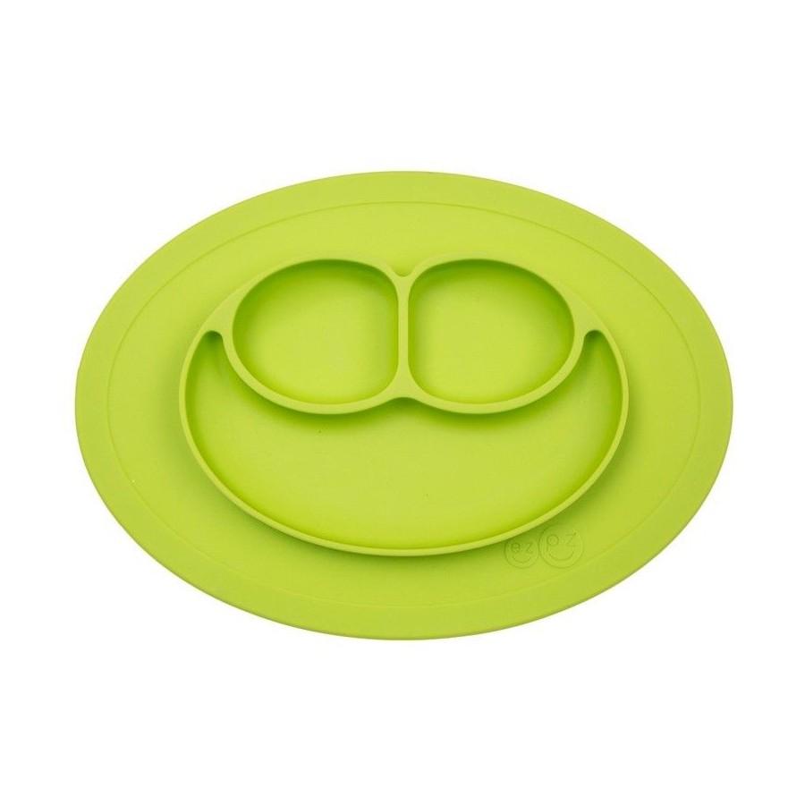 EZPZ silicone plate washer small 2in1 Mini Mat Green