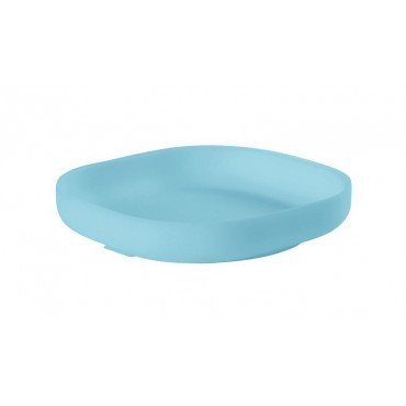 Beaba silicone suction cup with a blue plate