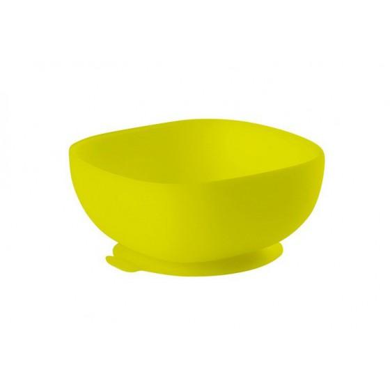 Beaba Silikonowa miseczka z przyssawka yellow
