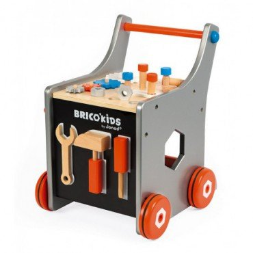 Janod workshop trolley with magnetic tools on Brico 'Kids Collection 2018